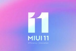 MIUI 11 был официально представлен