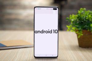 Стало доступно обновление до Android 10 (One UI 2) для Samsung Galaxy S10/S10+/S10e