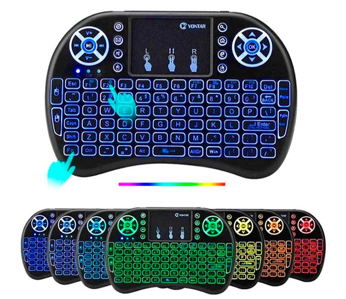7 Colors Backlit Keyboard