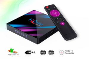 Обзор Смарт ТВ приставки Vontar H96 Max RK3318 на Android 10.0