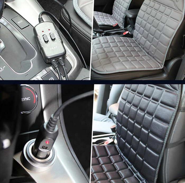 автомобильные чехлы накидки с подогревом