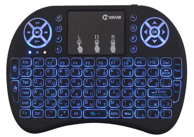 Клавиатура для тв приставки Vontar i8