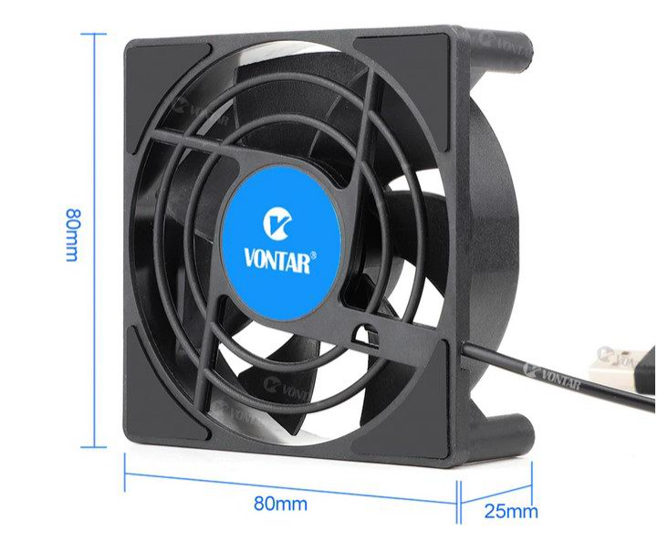 Размеры вентилятора для тв приставки