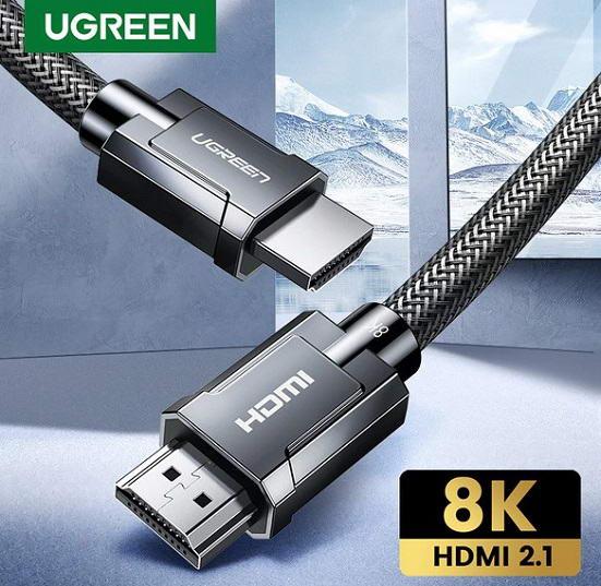 Кабель HDMI 2.1 8K/60Hz 4K/120Hz