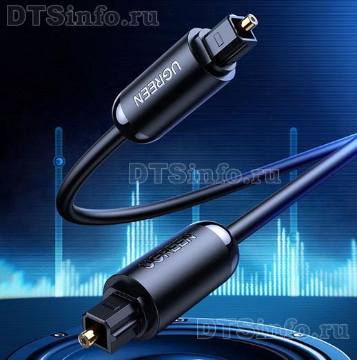 Оптический аудио кабель SPDIF Toslink - Toslink