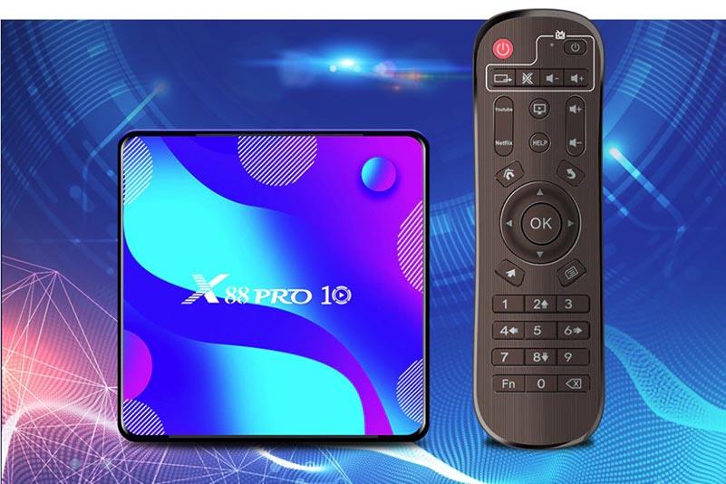 Обзор Смарт ТВ приставки Vontar X88 PRO 10 на Android 10.0
