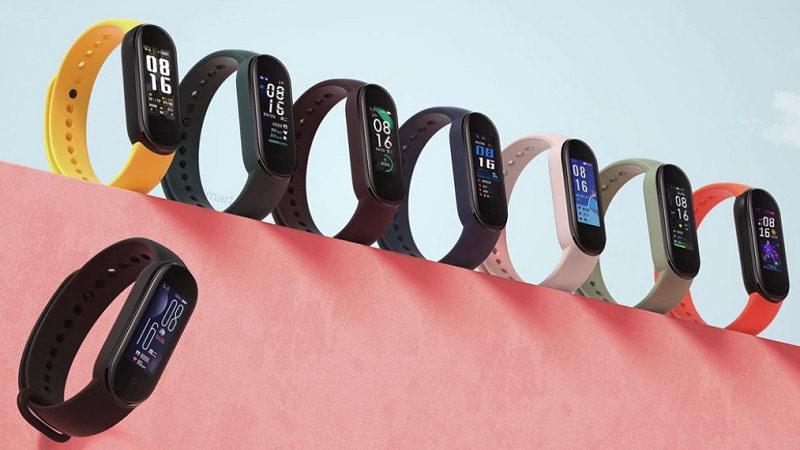 Xiaomi Mi Band 5 ремешки