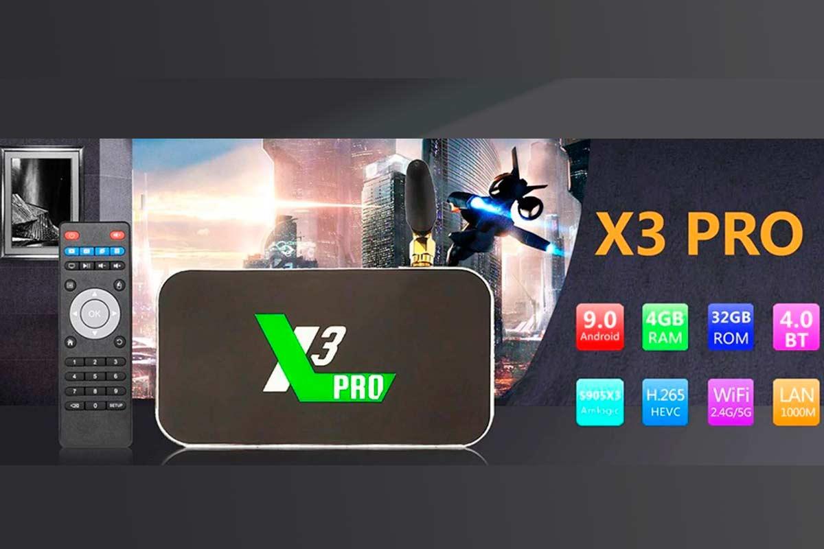 UGOOS X3 PRO Обзор Смарт ТВ приставки