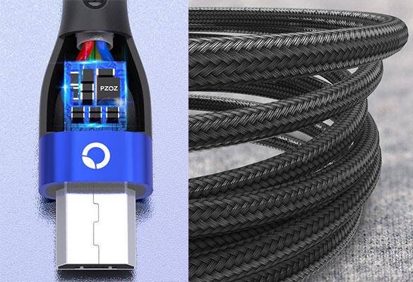 кабель зарядки micro usb