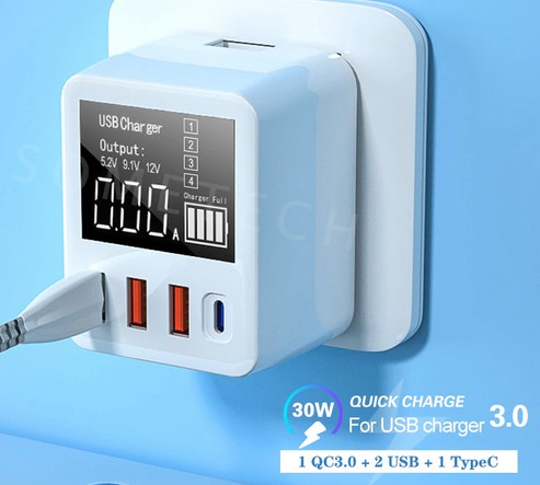 сетевое зарядное устройство quick charge 3.0