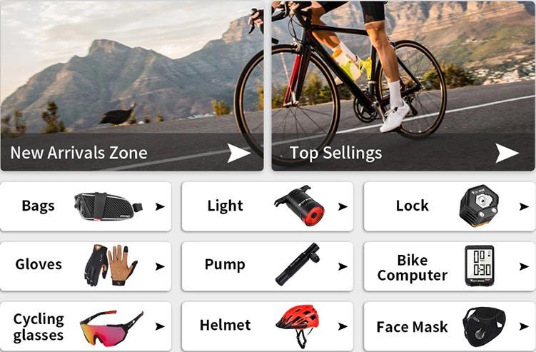 Товары для велоспорта AliExpress