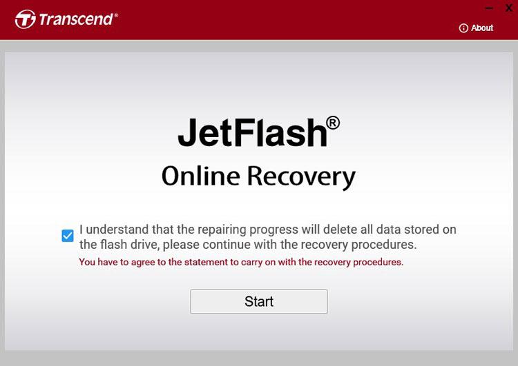 ПО JetFlash Online Recovery 1