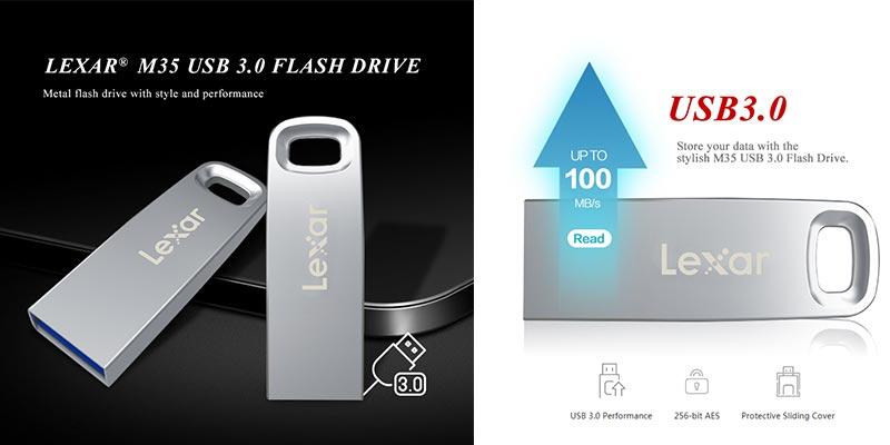 USB 3.0 LEXAR Jumpdrive M35 32 64GB