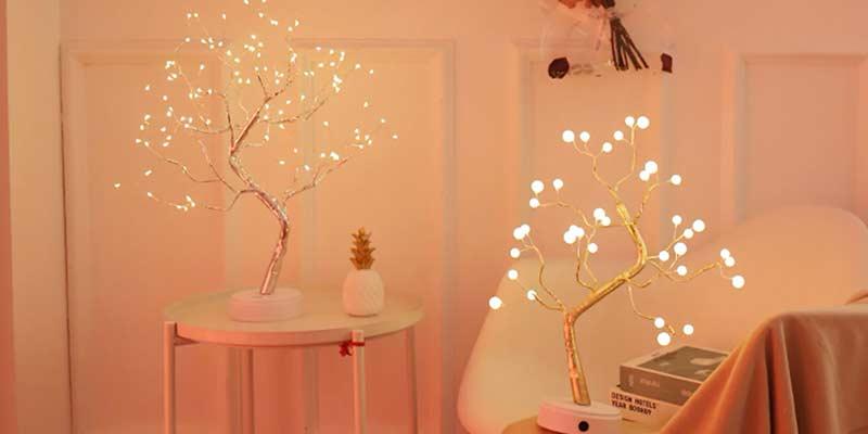 Новогодний Светодиодный светильник ночник