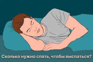 Read more about the article Сколько нужно спать, чтобы выспаться?