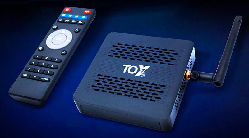TV Box TOX1 обзор и характеристики