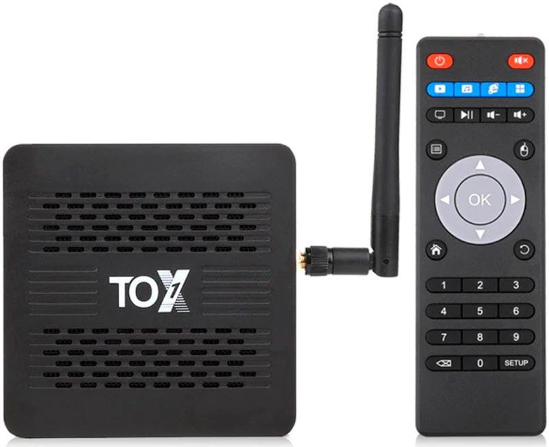 обзор тв приставки TOX1 и пульт