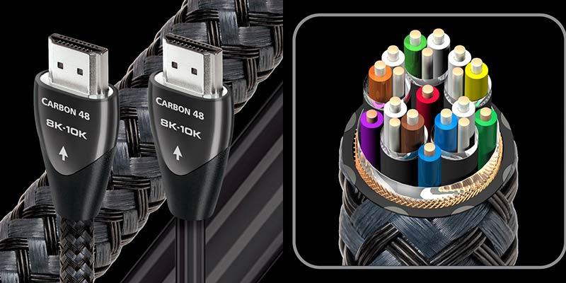 дорогой и лучший hdmi кабель Audioquest HDMI Carbon 48 Braid 1.0 m